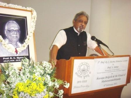 5th Prof. R. C. Sharma Memorial Lecture