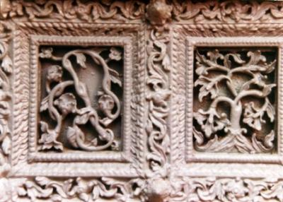 Detail Of Wooden Door