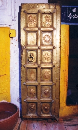 Left Side Brass Door