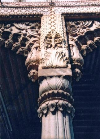 Decorated Pillar