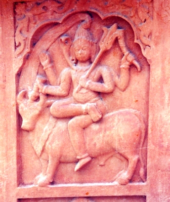 Shiva On Outer Wall Of Garbhagriha (North)