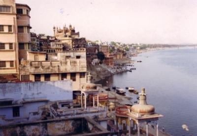 View Of Ganga Ghats From Bhonsla Ghat To Raj Ghat